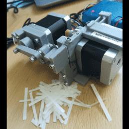 Pellon tape cutting