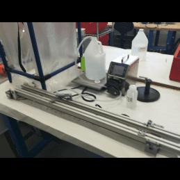 Remplissage de flacon pour sonde pH