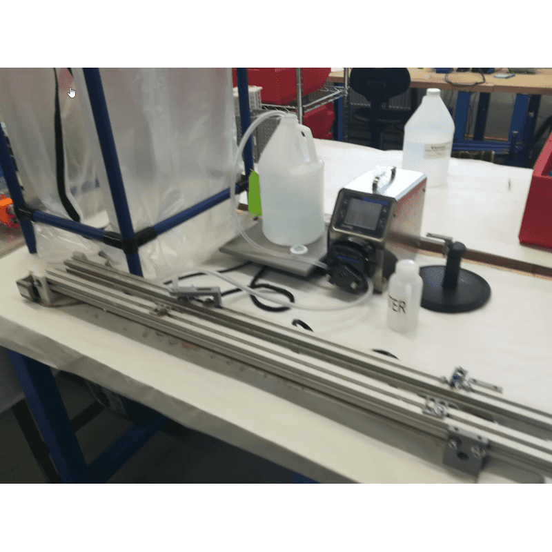 Bottle filling for pH probe