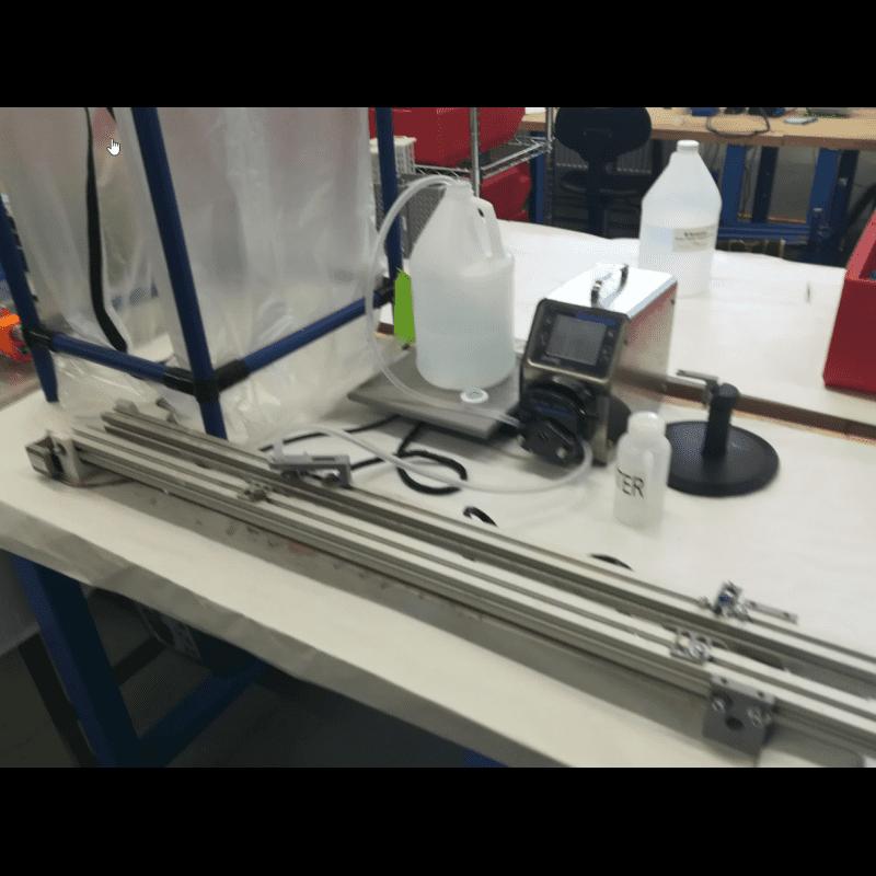 Plnění lahví pro pH sondu