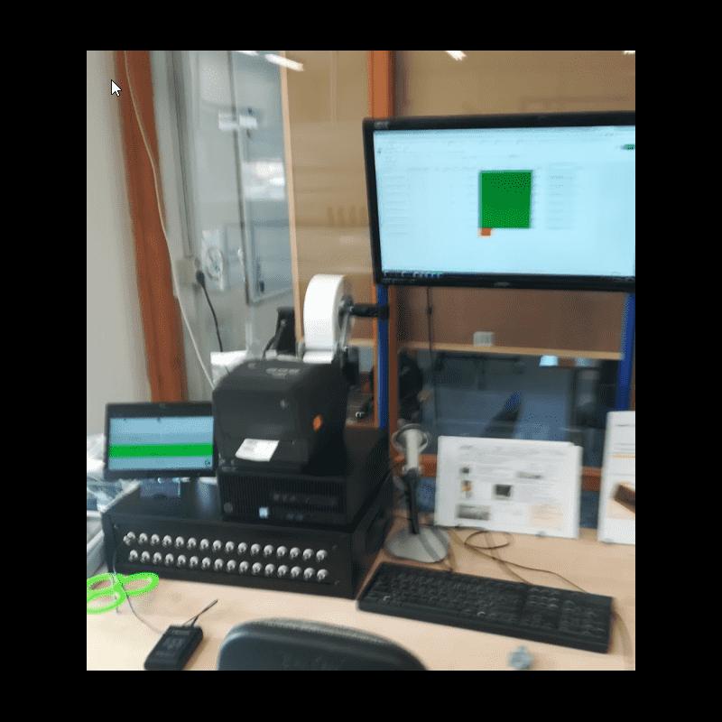 Banc de test sonde pH