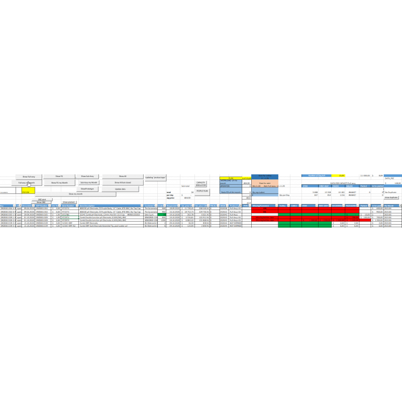 Load calculation of the Excel VBA workshop