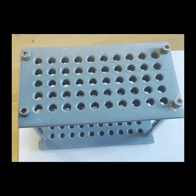 Probe handling tray