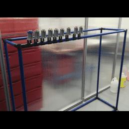 Chariot pour polymérisation