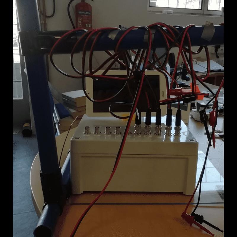 Banc de test de conductivité