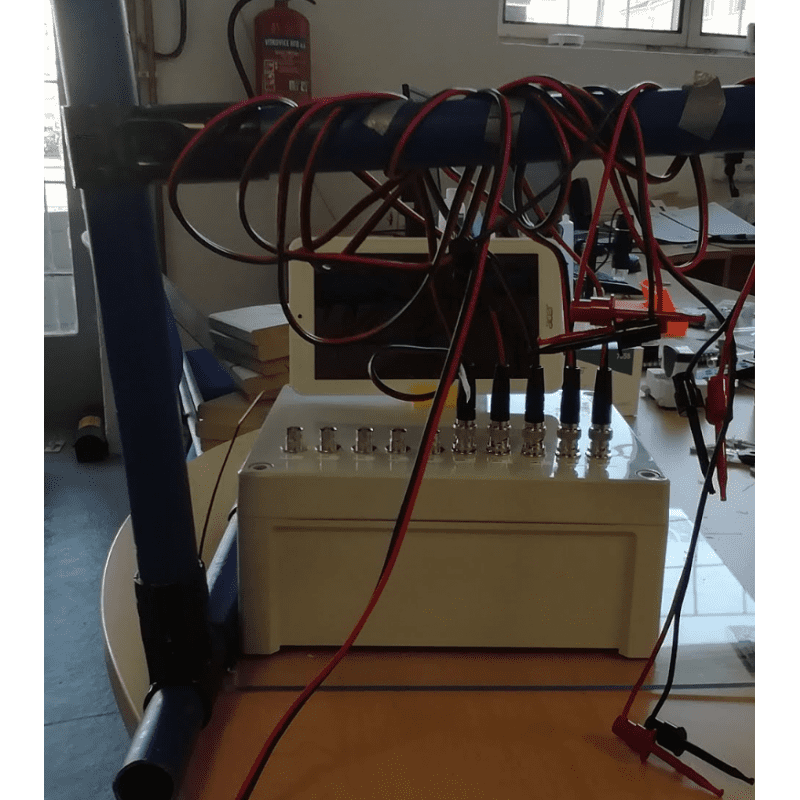 Conductivity test bench