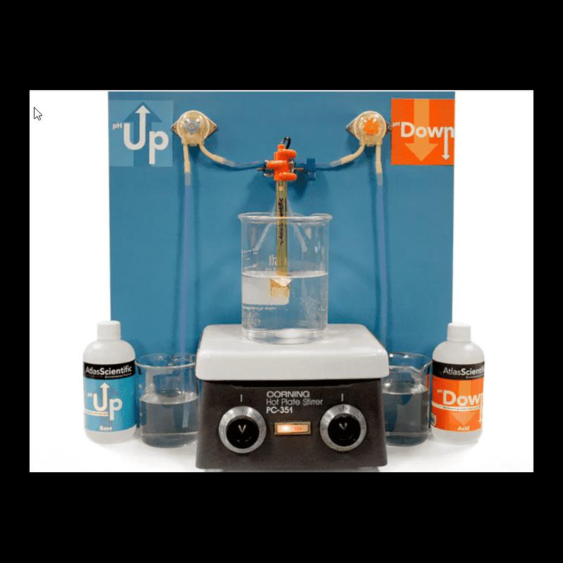 Laboratorní regulátor pH