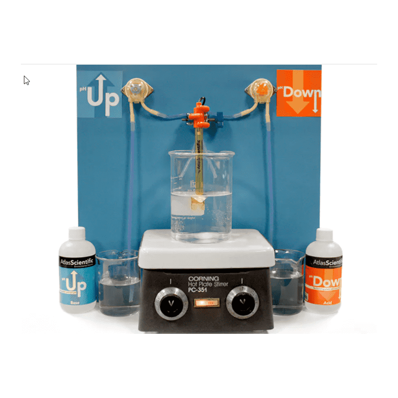 Régulateur de pH pour laboratoire