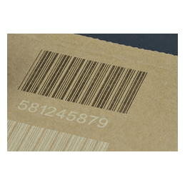 Laser marking of cardboard packaging