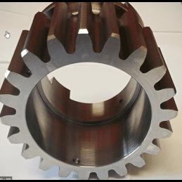 Gear cutting